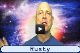 2nd graders LOVE Rusty!