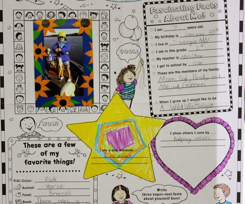 Mrs. Olson's Star of the Week Celebration!