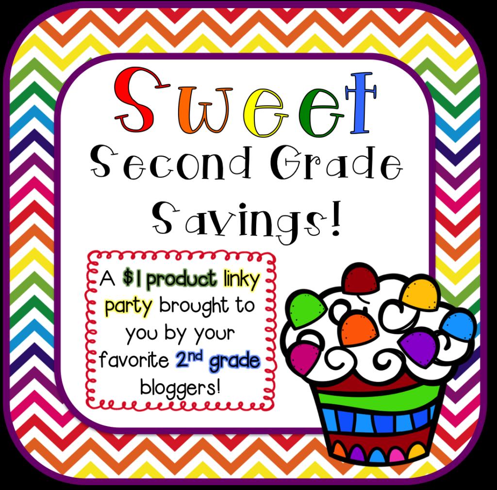 Sweet Second Grade Savings- $1 Linky Party!