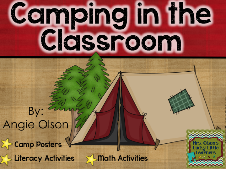 http://www.teacherspayteachers.com/Product/Camping-in-the-Classroom-Pack-1140478