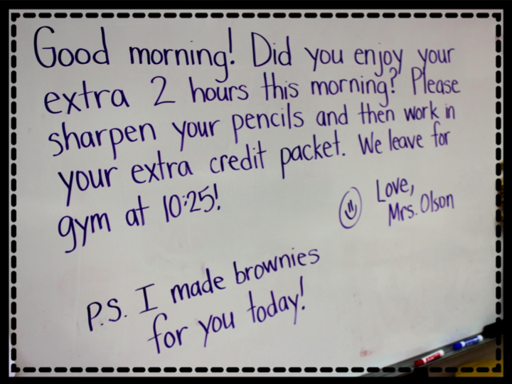 """""""Brownies"""" from your Teacher!"""