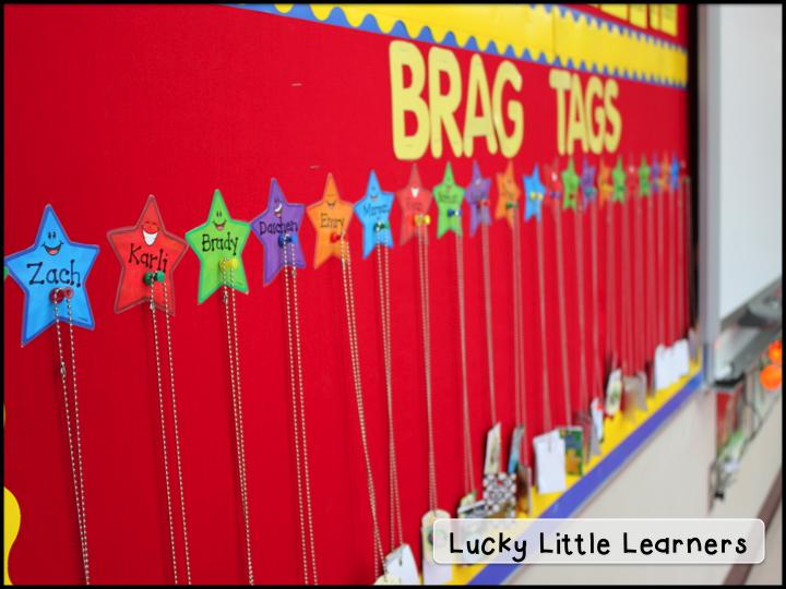 http://www.teacherspayteachers.com/Product/School-Days-Brag-Tags-851525
