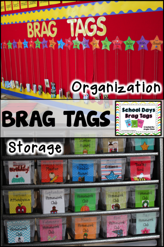 http://www.teacherspayteachers.com/Product/School-Days-Brag-Tags-851525