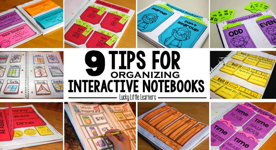 Interactive Notebook Series (Part One):  Organization & Storage