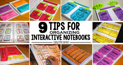 Interactive Notebook Series (Part One):  Organization & Storage