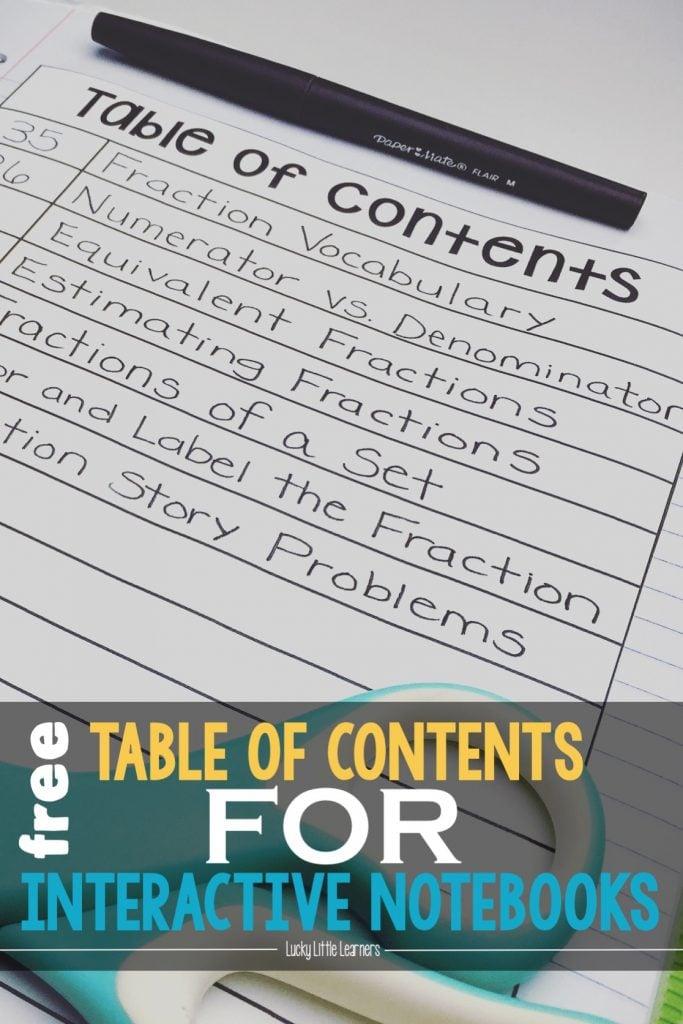 Interactive Notebook Series (Part One): Organization & Storage ...