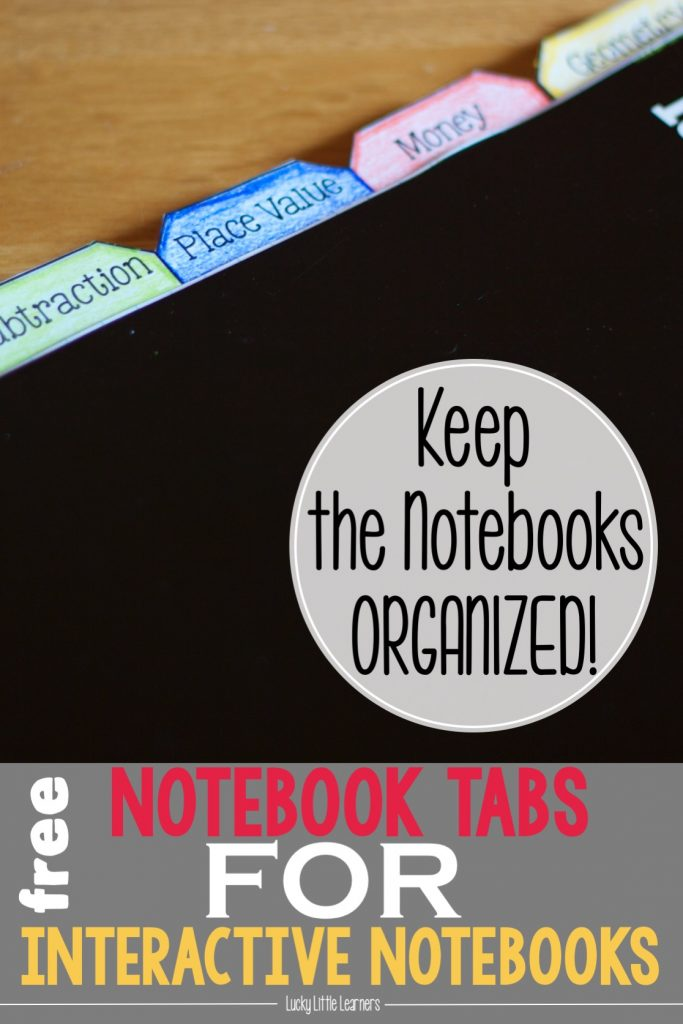 Keep your students and their interactive notebooks organized with keep your students and their interactive notebooks organized with these free resources this post has free table of contents templates notebook tabs maxwellsz