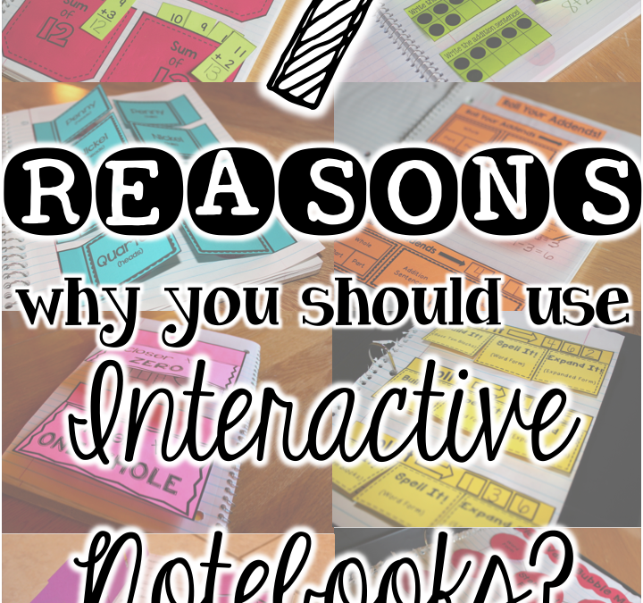 Interactive Notebook Series (Part Three):  Why use them?