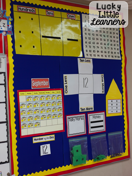 Calendar Ideas For Classroom : Classroom reveal lucky little learners