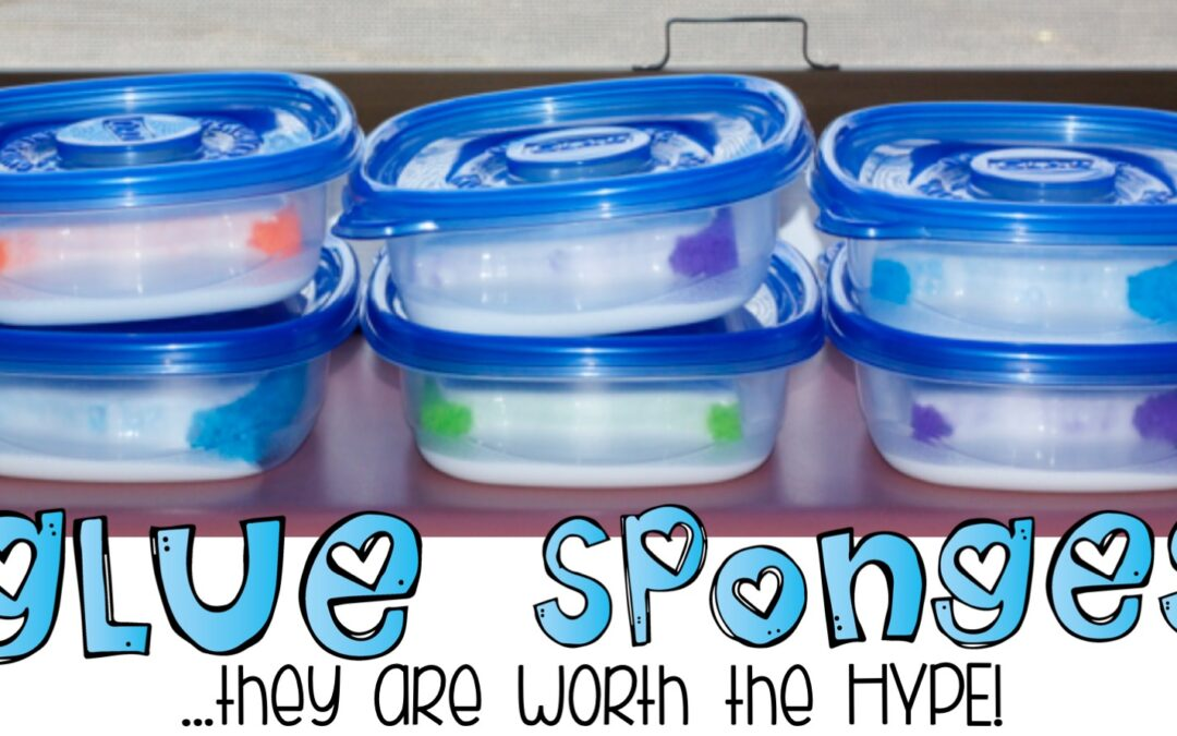 Glue Sponges…they are worth the HYPE!