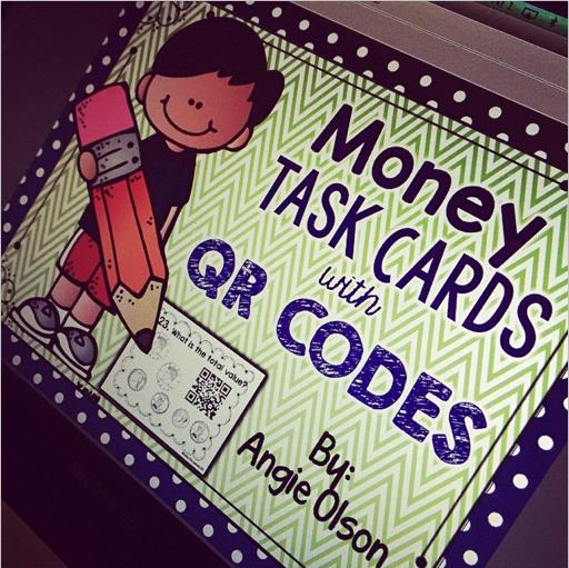 http://www.teacherspayteachers.com/Product/Money-QR-Code-Task-Cards-1600488