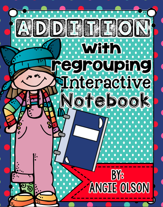 http://www.teacherspayteachers.com/Product/Addition-with-Regrouping-Interactive-Notebook-Pages-1620804