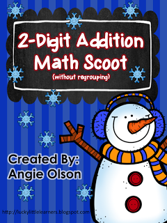 http://www.teacherspayteachers.com/Product/Winter-Scoot-2-Digit-Addition-without-regrouping-1035778