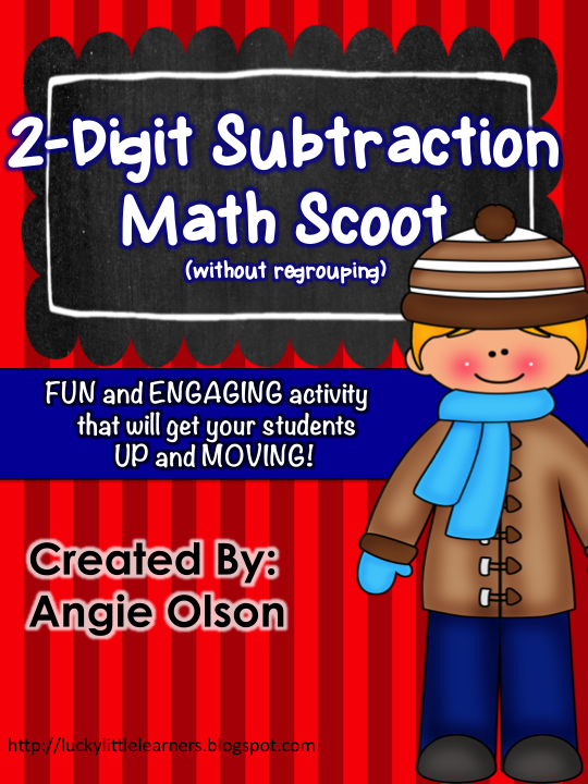 http://www.teacherspayteachers.com/Product/Winter-Scoot-2-Digit-Subtraction-without-regrouping-1065911