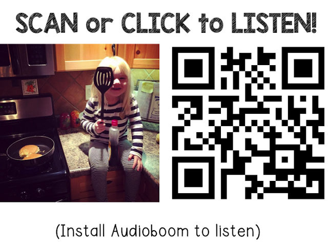 Improve Writing with QR CODES - Lucky Little Learners