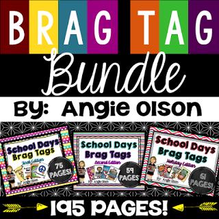https://www.teacherspayteachers.com/Product/BRAG-TAGS-BUNDLE-195-pages-1625826