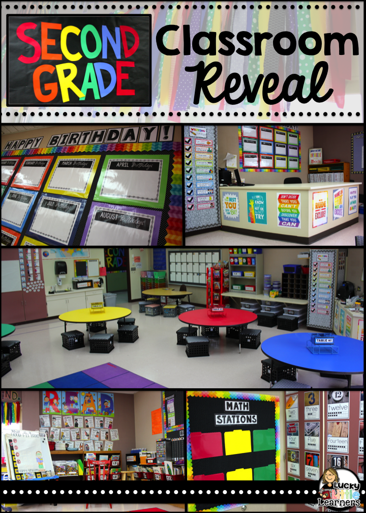 Classroom Ideas Second Grade ~ Classroom reveal lucky little learners