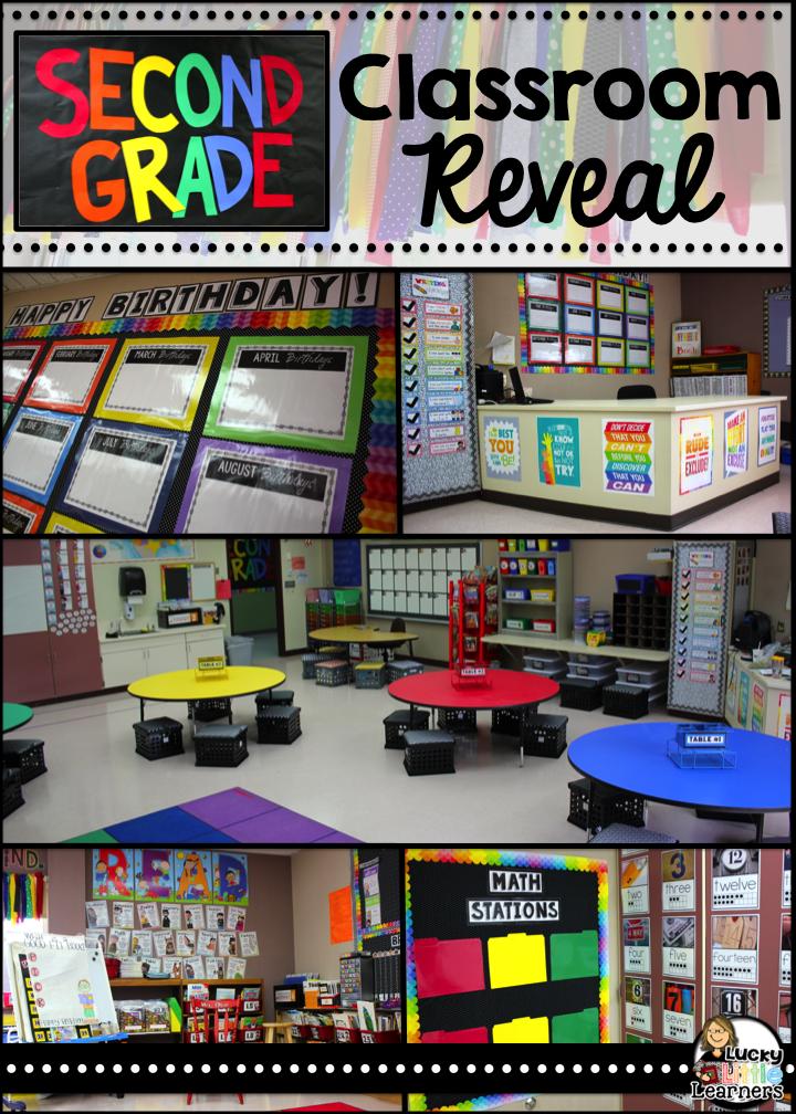 Teacher Classroom Decor Websites ~ Classroom reveal lucky little learners