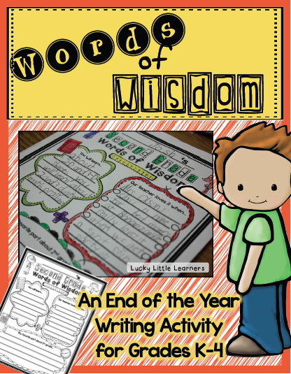 https://www.teacherspayteachers.com/Product/Words-of-Wisdom-An-End-of-the-Year-Writing-Activity-1242378