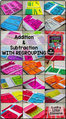 https://www.teacherspayteachers.com/Product/Interactive-Math-Notebooks-Bundle-4-Addition-Subtraction-with-Regrouping-1680466