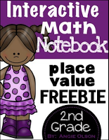 https://www.teacherspayteachers.com/Product/Place-Value-Interactive-Notebook-FREEBIE-1339518