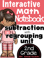 https://www.teacherspayteachers.com/Product/Subtraction-with-Regrouping-Interactive-Notebook-Pages-1670324
