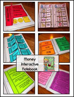 http://www.teacherspayteachers.com/Product/Money-Unit-Interactive-Math-Notebook-Pages-1183610