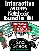 https://www.teacherspayteachers.com/Product/Interactive-Math-Notebooks-Bundle-1Money-Geometry-Time-1184691