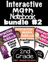 https://www.teacherspayteachers.com/Product/Interactive-Math-Notebooks-Bundle-2-Fractions-Measurement-and-Place-Value-1269268