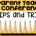 7 Parent Teacher Conference Tips and Tricks along with a few FREEBIES!
