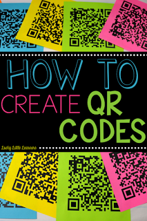 Have you ever wondered how teachers make QR codes for their students? This post gives a video tutorial of how to make QR codes and it's a very easy step by step process.