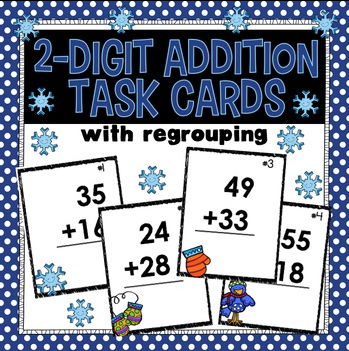 https://www.teacherspayteachers.com/Product/2-Digit-Addition-with-regrouping-Task-Cards-1042687