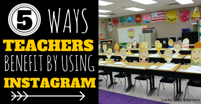 5 Ways Teachers Benefit By Using Instagram