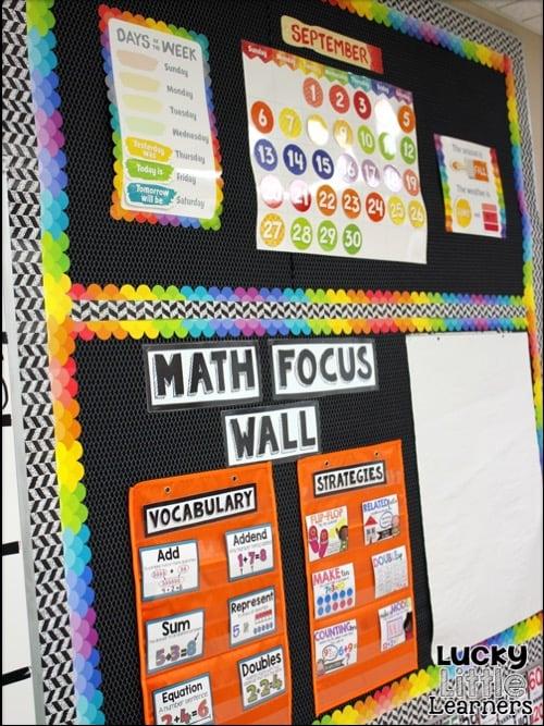 Calendar Kindergarten Zip : Classroom reveal lucky little learners