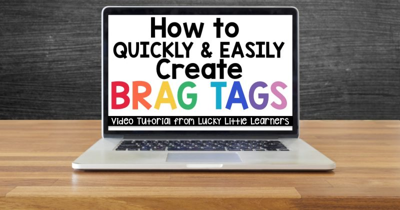 How to Quickly and Easily Create Brag Tags