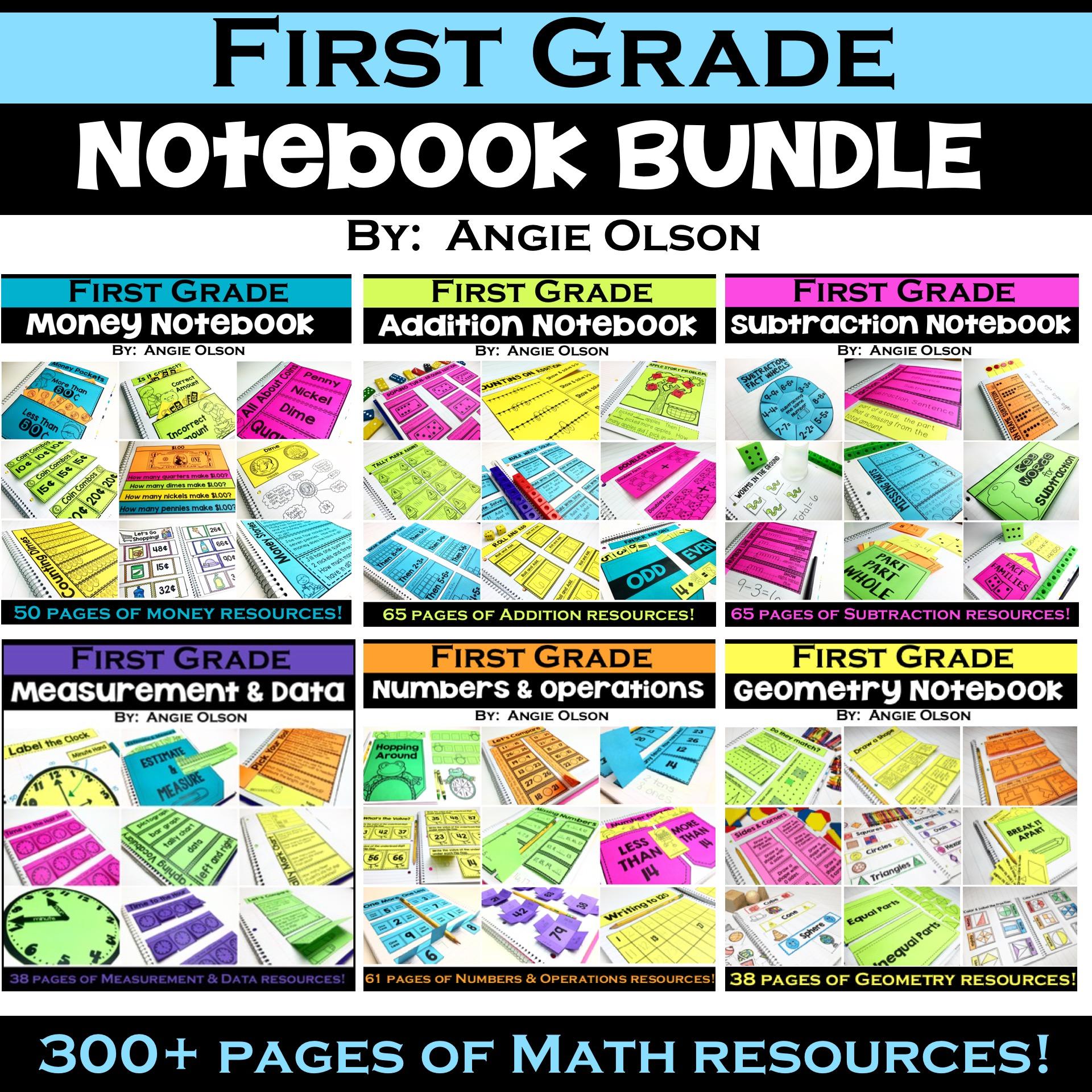First Grade INB Bundle