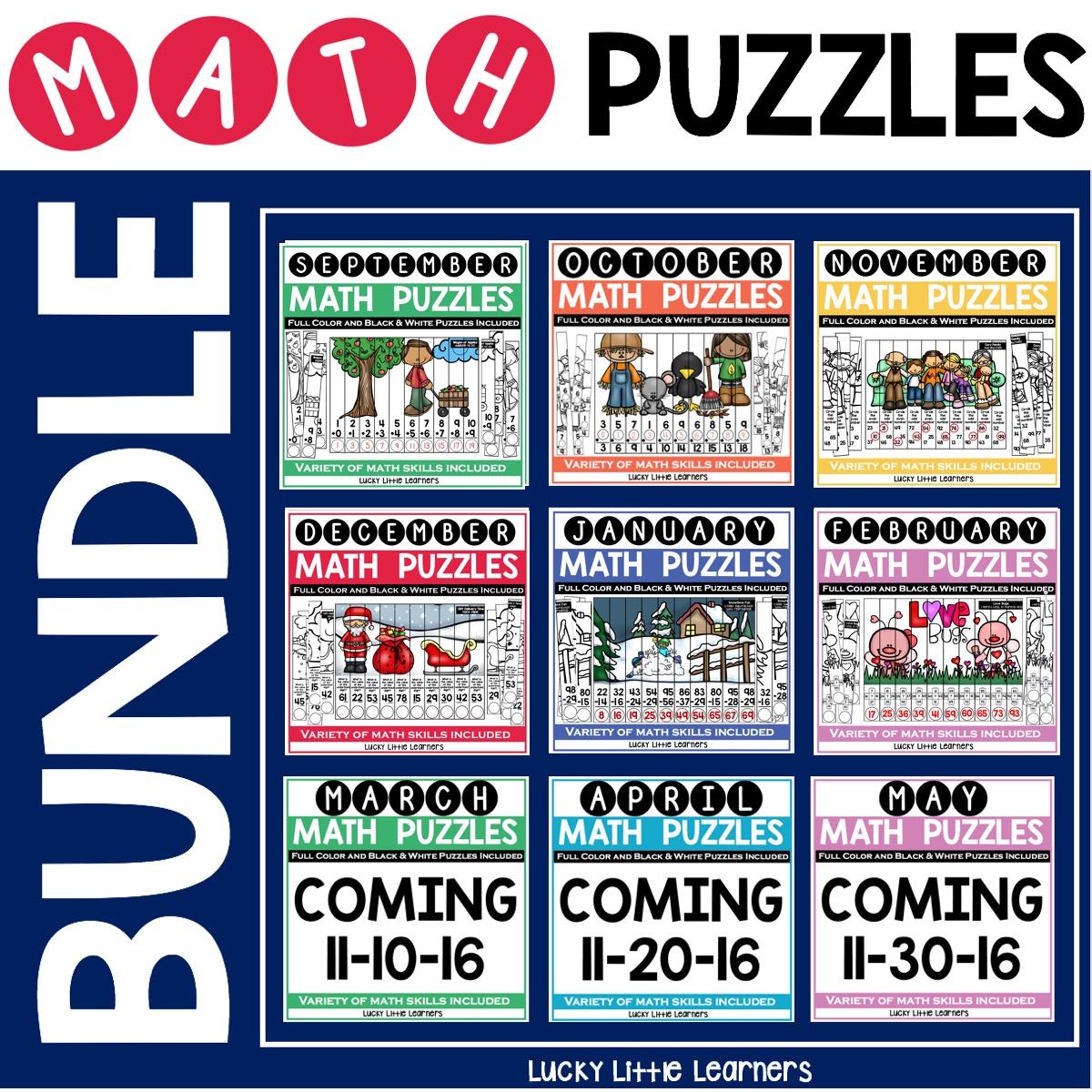 Math Puzzle Bundle