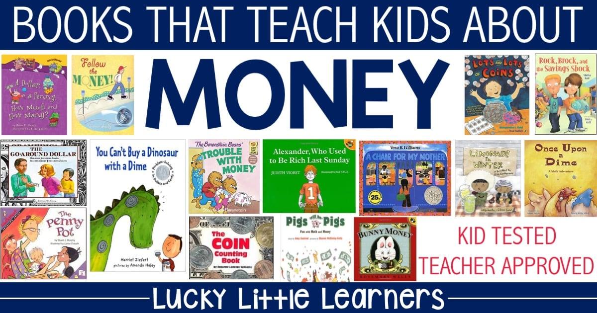 Children's Books that Teach Money - Lucky Little Learners