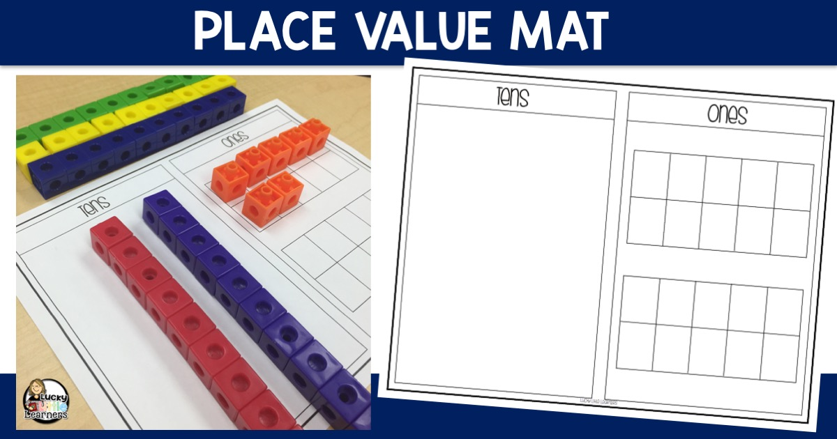Place Value Mat Lucky Little Learners