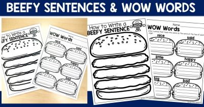 Beefy Sentences & Wow Words