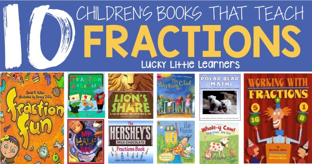 Children's Books That Teach Fractions