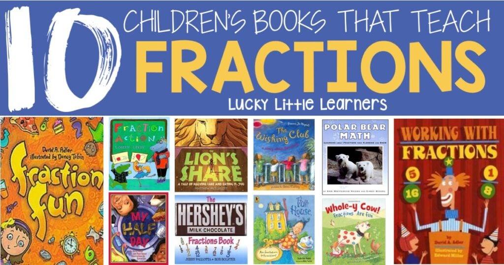 10 Children's Books That Teach Fractions