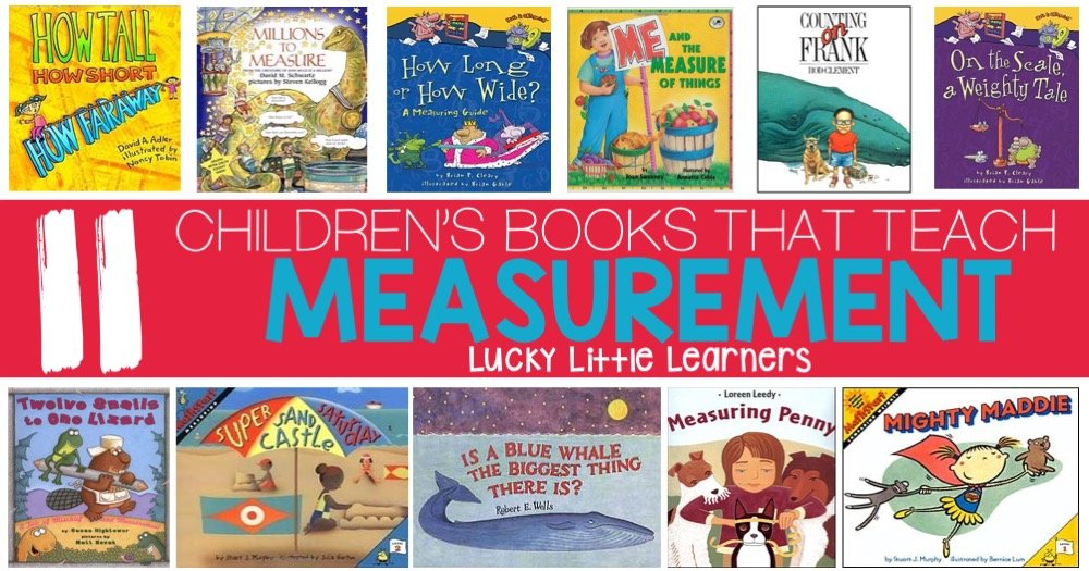 Children's Books That Teach Measurement