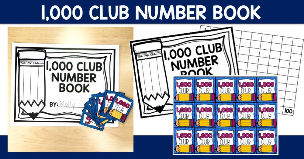 1,000 Club Number Books and Brag Tags