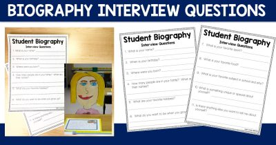 Biography Interview Questions