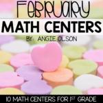 February Math Centers