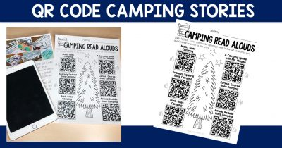 QR Code Camping Stories