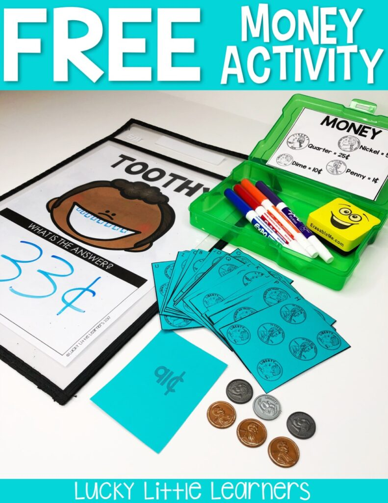 This money activity is perfect for 1st grade and 2nd grade students! This free money activity download includes adding like coins, adding a variety of coins, American coins, Canadian coins, and Australian coins!