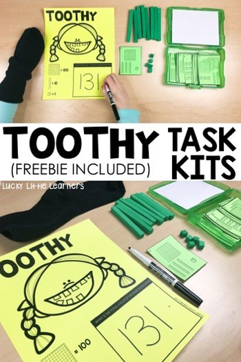 Have you been hearing anything about Toothy™ Task Kits lately? Toothy will quickly become your students' favorite game to play as an early finisher or center activity. This post highlights what Toothy is, how to play, materials needed, and other commonly asked questions.
