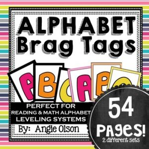 Alphabet Brags Tags-1